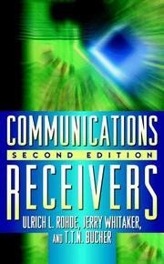 Communications receivers by Ulrich L. Rohde