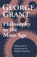 Philosophy in the mass age PDF