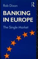 Banking in Europe by Rob Dixon