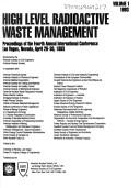 High Level Radioactive Waste Management by American Nuclear Society.