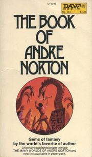 Cover of: The Book of Andre Norton