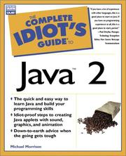 The complete idiot's guide to Java 2