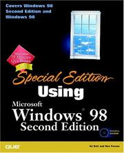 Special Edition Using Windows 98 PDF