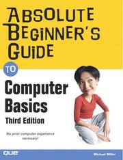 Absolute beginner's guide to computer basics PDF