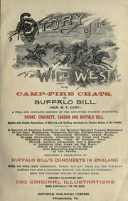 Story of the wild West and camp-fire chats by Buffalo Bill