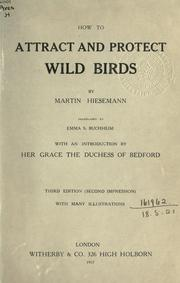 How to attract and protect wild birds PDF