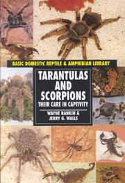 Tarantulas and Scorpions by Wayne Rankin