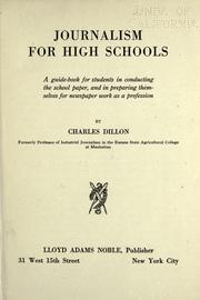 Journalism for high schools PDF