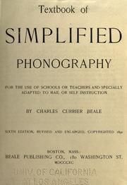 Textbook of simplified phonography for the use of schools or teachers and specially adapted to mail or self instruction PDF
