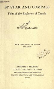 By star and compass by Wallace, W. Stewart