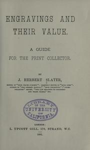Engravings and their value PDF