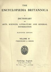Cover of: The Encyclopaedia Britannica by 