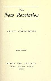 The New Revelation by Sir Arthur Conan Doyle