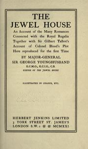 The jewel house by G. J. Younghusband