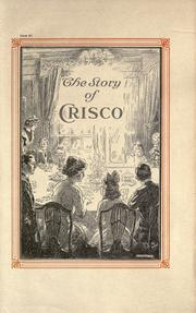 The story of Crisco by Marion Harris Neil
