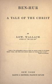 Cover of: Ben-Hur by Lew Wallace