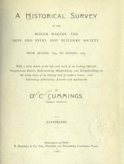 A historical survey of the Boiler Makers' and Iron and Steel Ship Builders' Society, from August, 1834, to August, 1904 PDF