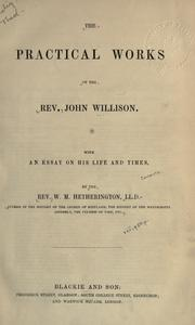 Practical works by John Willison