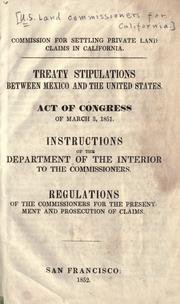 Treaty stipulations between Mexico and the United States PDF
