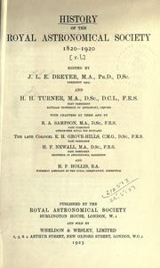 History of the Royal Astronomical Society PDF