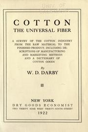 Cotton, the universal fiber PDF