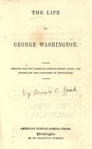 Life of George Washington by Anna C. Reed