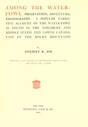 Among the water-fowl by Herbert Keightley Job