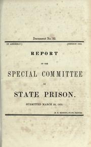 Report of the Special Committee on State Prison PDF