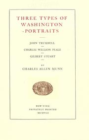 Three types of Washington portraits by Charles Allen Munn