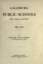 Galesburg public schools by William Lucas Steele