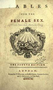 Fables for the female sex by Moore, Edward