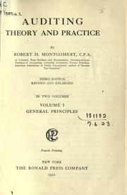 Auditing theory and practice by Robert Hiester Montgomery