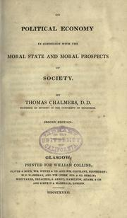 On political economy by Chalmers, Thomas