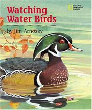Watching Water Birds by Jim Arnosky