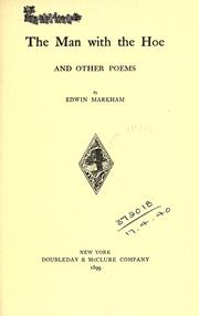 The man with the hoe, and other poems PDF