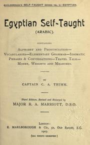 Egyptian self-taught (Arabic) PDF