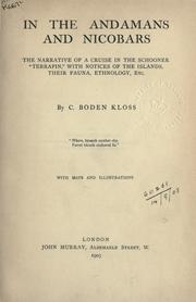 In the Andamans and Nicobars by C. Boden Kloss