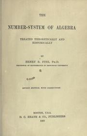 The number-system of algebra PDF