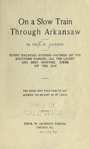 On a slow train through Arkansaw PDF