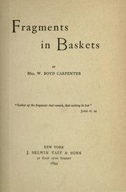 Fragments in baskets PDF