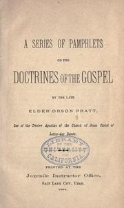 A series of pamphlets on the doctrines of the gospel PDF