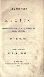 Adventures in Mexico by Corydon Donnavan