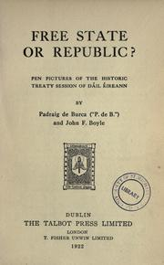 Free state of republic? PDF