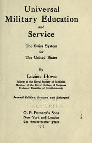 Universal military education and service PDF
