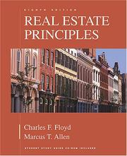 Real estate principles by Charles F. Floyd