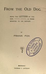 From the old dog by Fox, Frank