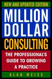 Cover of: Million Dollar Consulting by Alan Weiss
