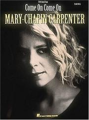 Mary Chapin Carpenter - Come On, Come On PDF