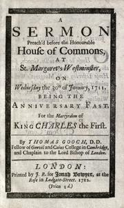 A sermon preach'd before the Right Honourable the Lord Mayor by Francis Atterbury