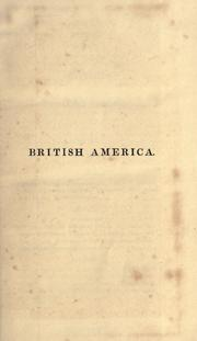 British America by Macgregor, John
